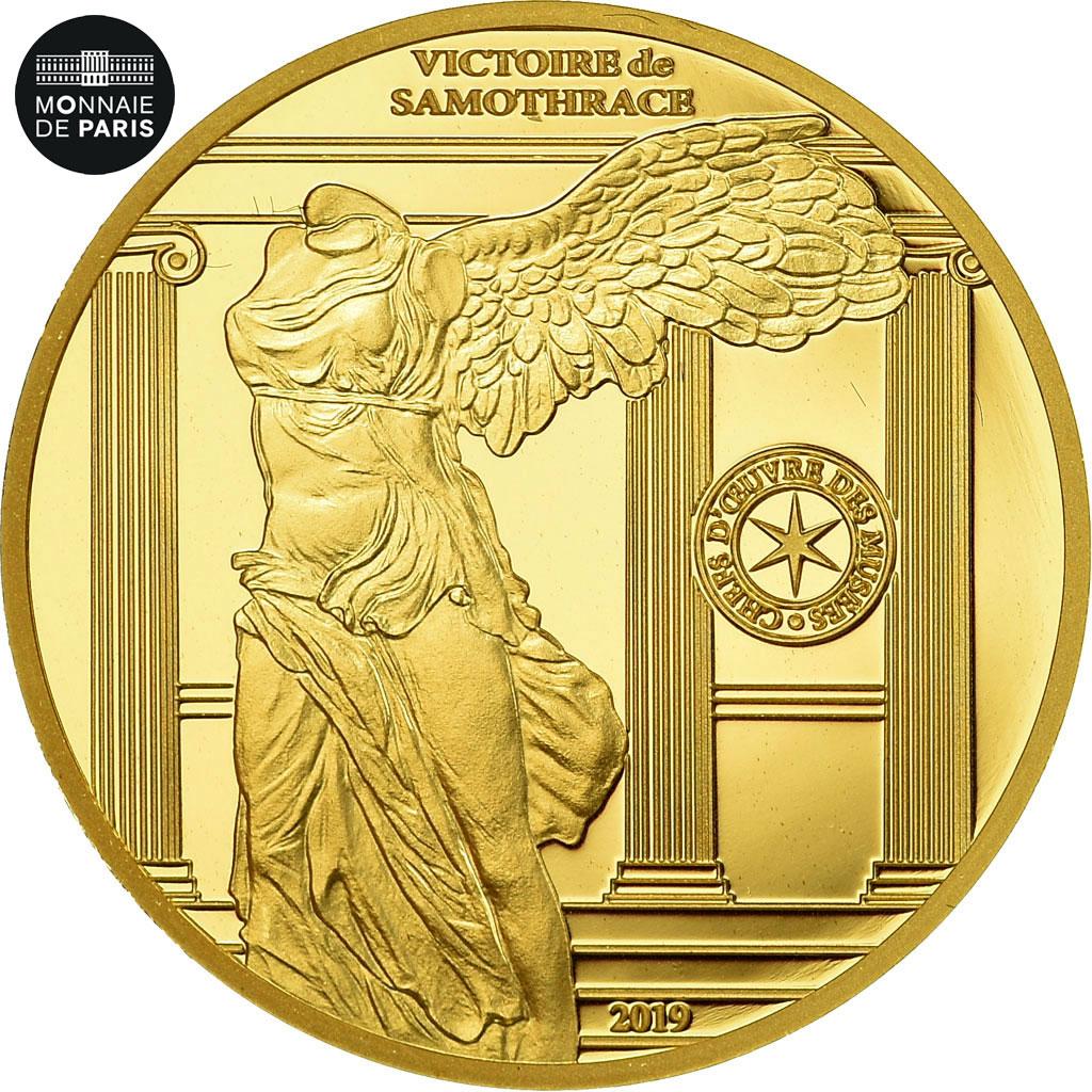 Details About [#485928] France, Monnaie De Paris, 50 Euro, Victoire De  Samothrace, 2019, Gold intérieur Monnaie Fictive