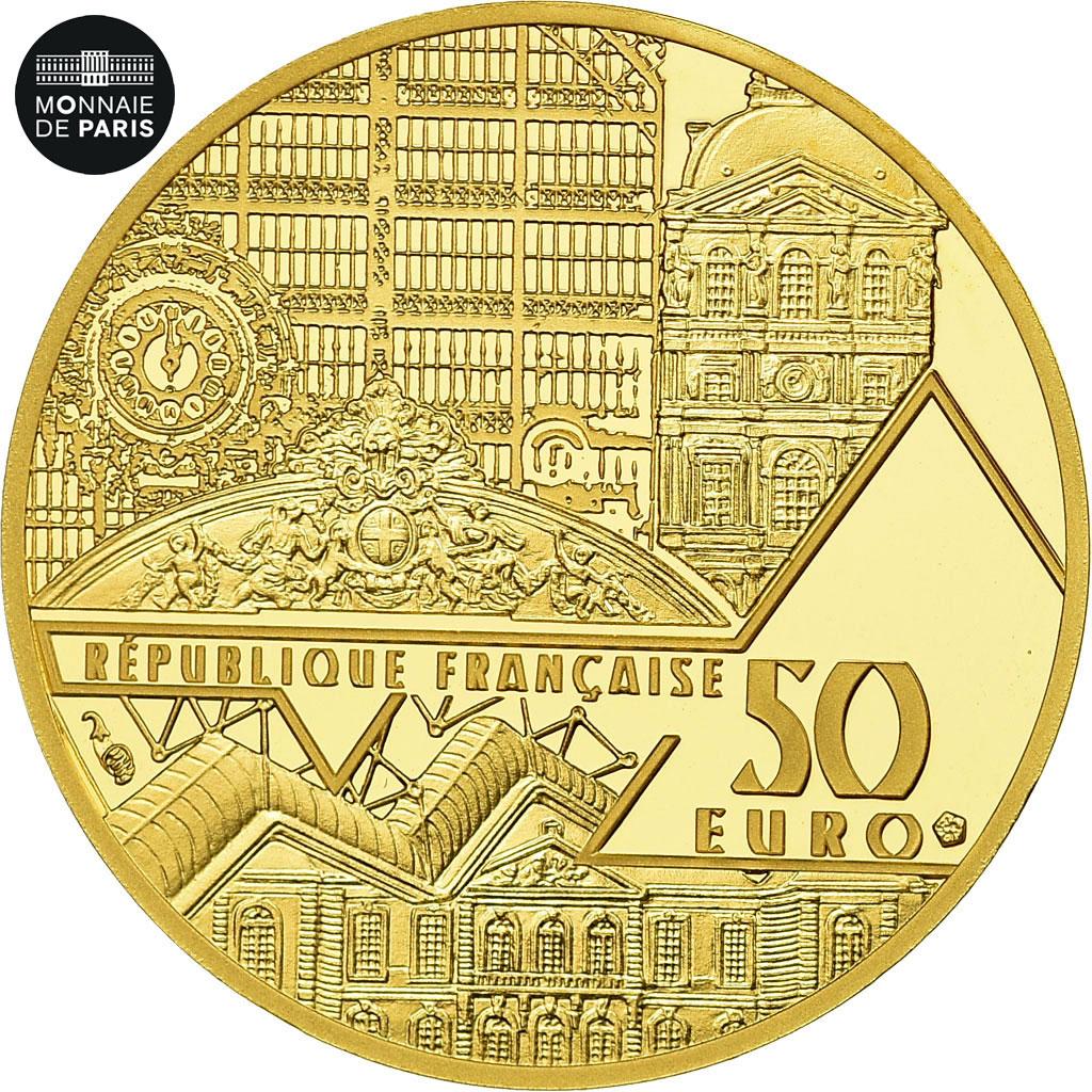 Details About [#485928] France, Monnaie De Paris, 50 Euro, Victoire De  Samothrace, 2019, Gold tout Monnaie Fictive