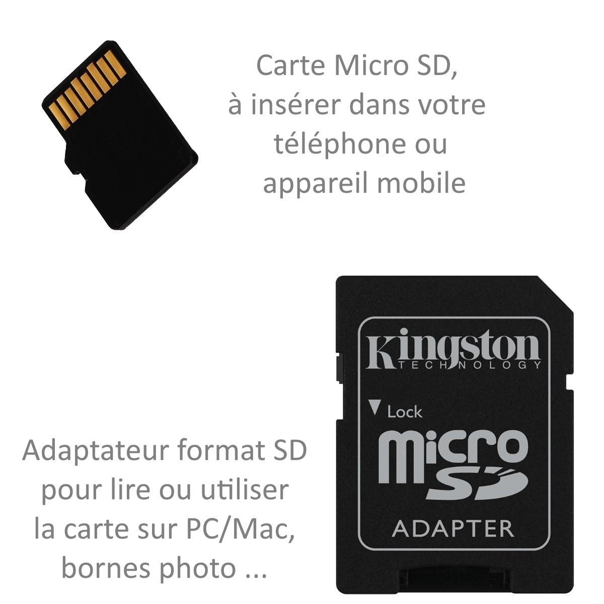 """Détails Sur Carte Mémoire Micro Sd 32 Go Classe 4 Pour Alcatel Pop 4 6"""" concernant Lire Carte Memoire Sur Pc"""