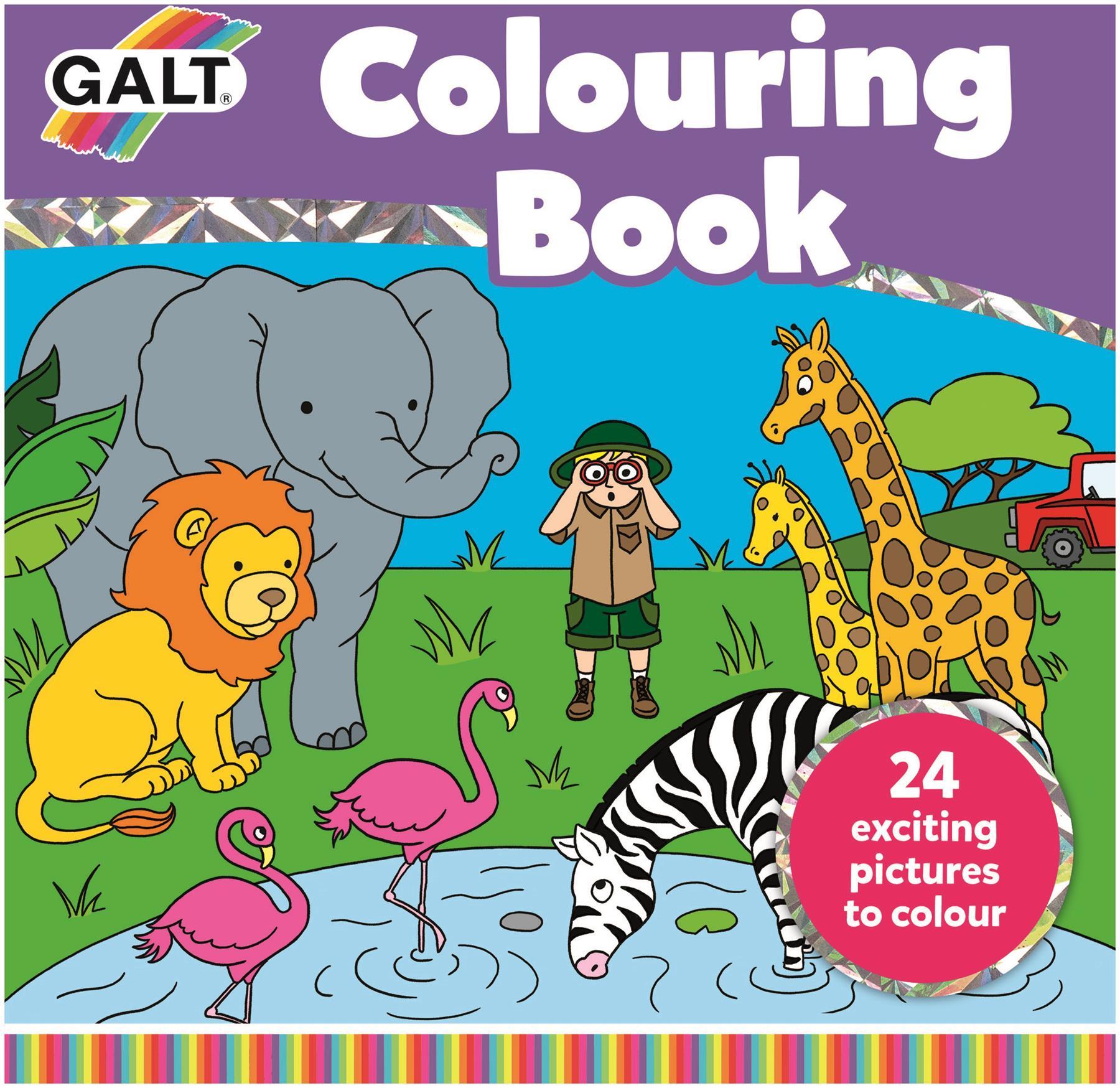 Détails Sur Galt Cahier De Coloriage Enfants Activité Jouet Nouveau dedans Cahier De Coloriage Enfant