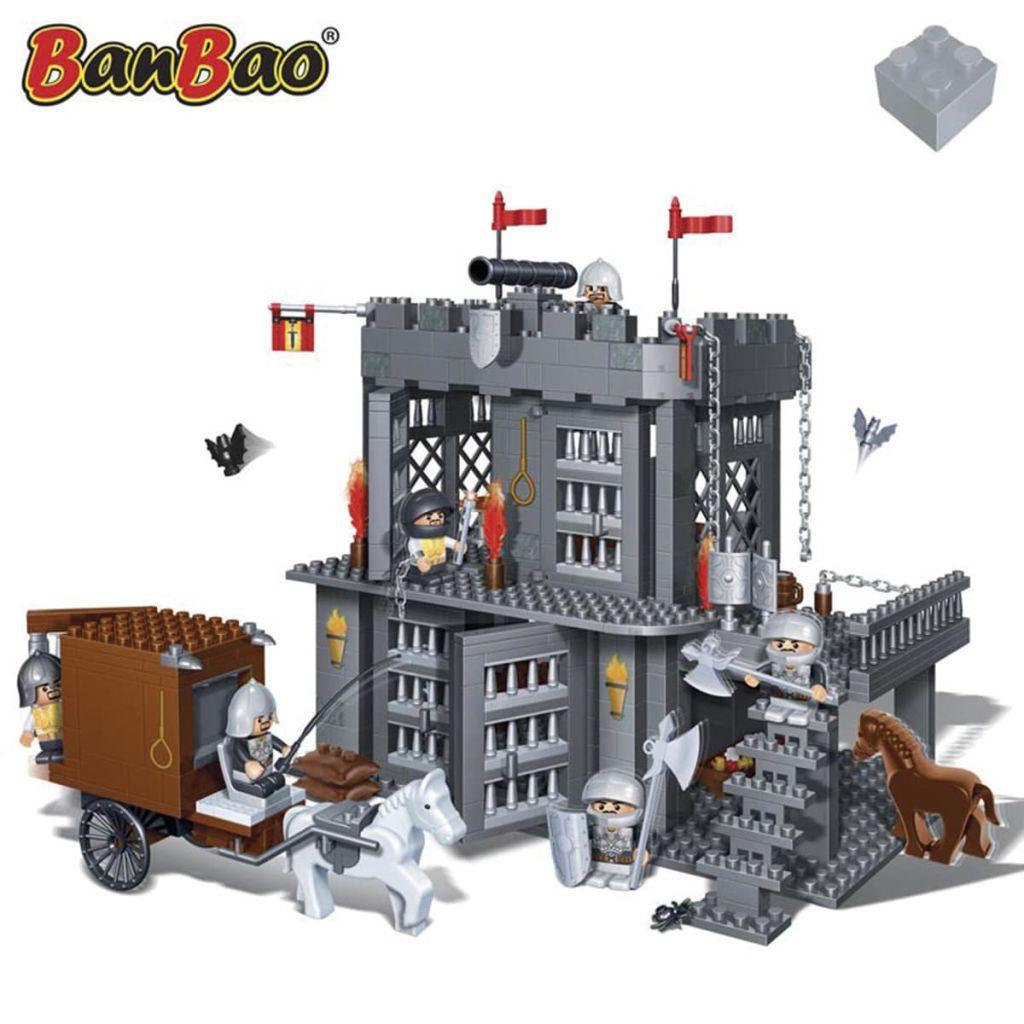 Détails Sur Jeu De Construction Pour Enfant Fille Garçon Prison Du Château  Banbao 8261 avec Jeux De Fille Pour Garçon