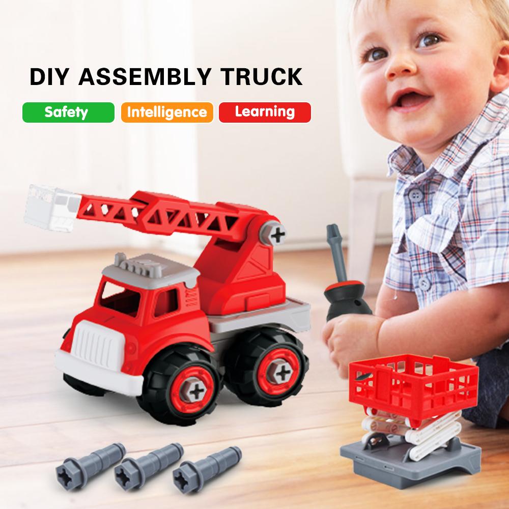 Détails Sur Voiture Enfant Bébé Camion Pompier Jeux De Puzzle Jouet  Activites Manuelles Jeux avec Jeux Bebe Voiture