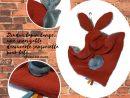 Deux Doudou Lapin Lange ,gris Et Brique. Multi Sensorielle En Tissus Oeko  Tex.originaux, Fait Mains. avec Brique Pour Bebe