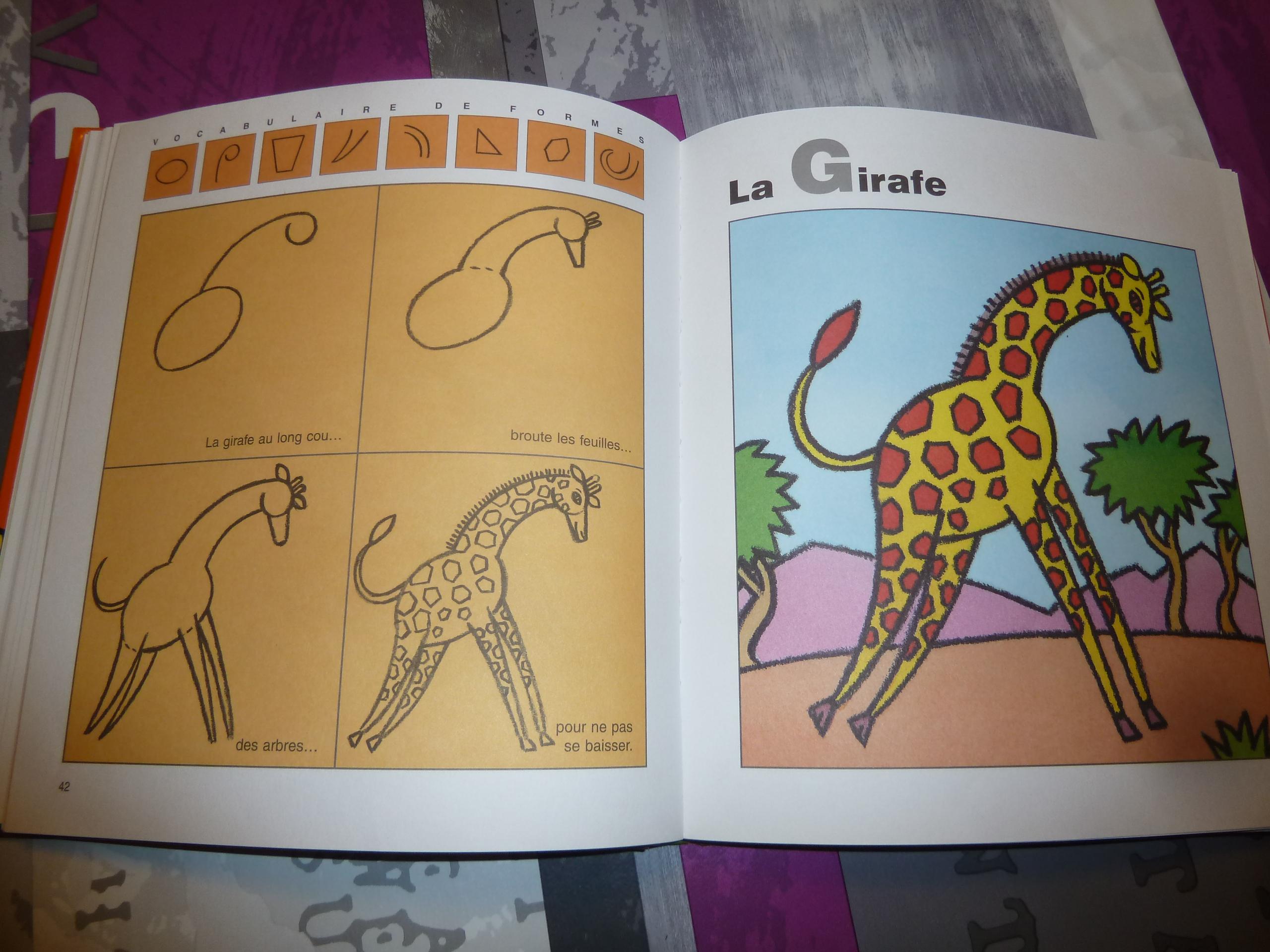 Deux Livres Pour Apprendre À Dessiner Aux Enfants à J Apprend À Dessiner