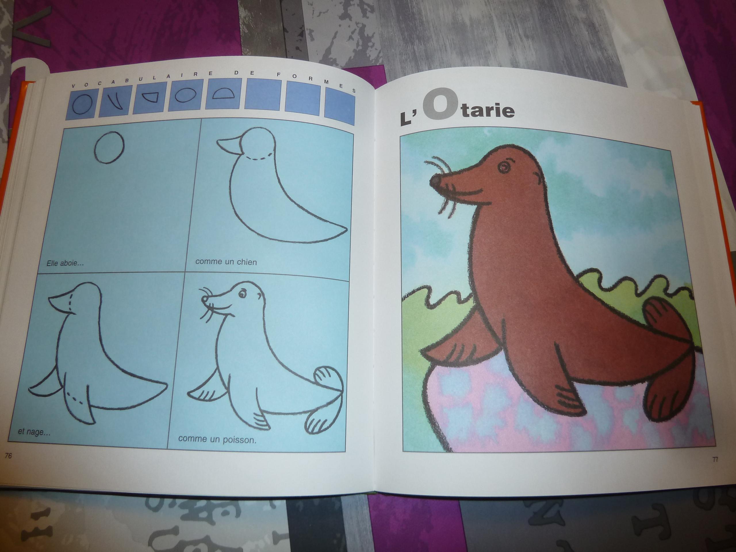 Deux Livres Pour Apprendre À Dessiner Aux Enfants destiné J Apprend À Dessiner