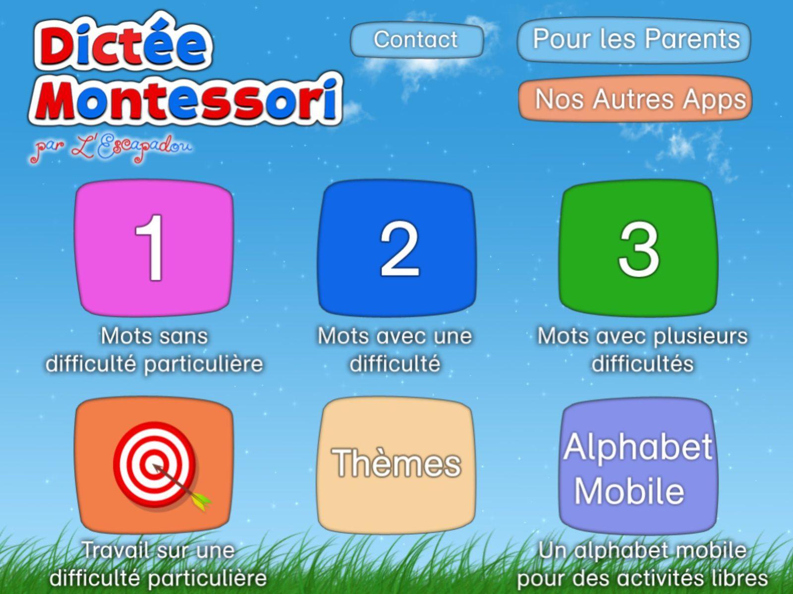 Dictée Montessori, Une Application Pour Apprendre L encequiconcerne Apprendre Les Lettres En Jouant