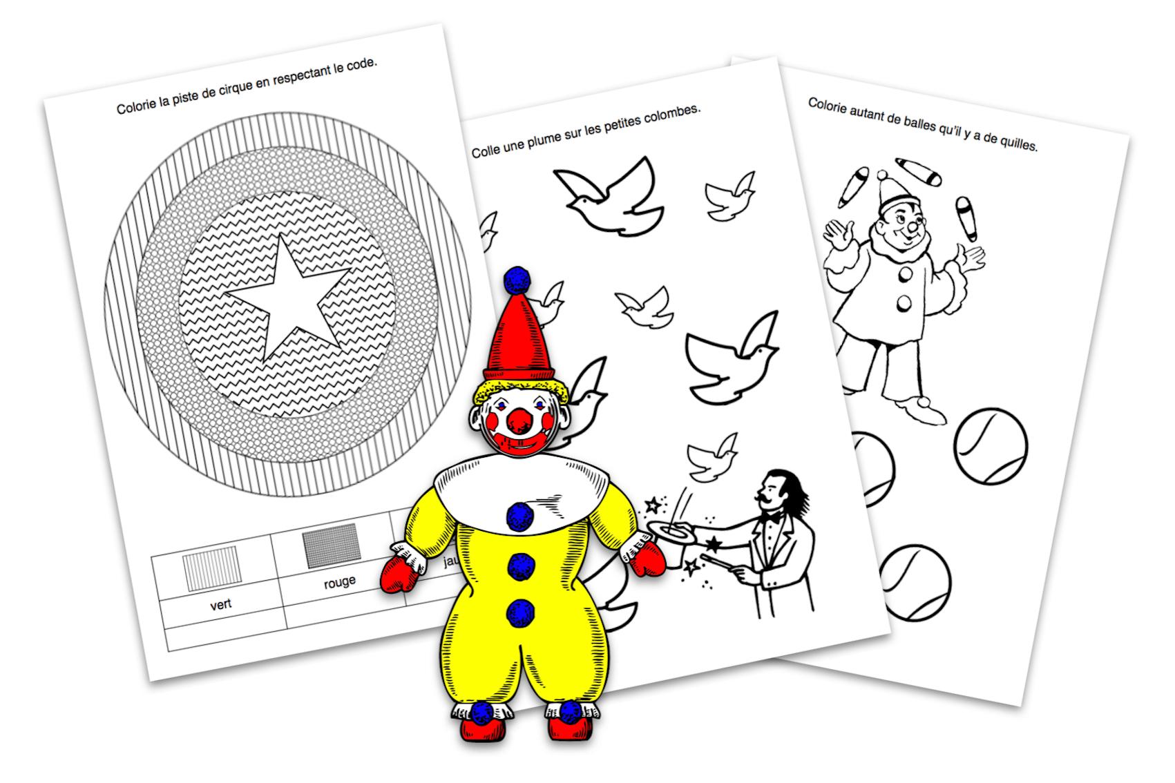 Didactécole - Exercices Pour La Classe Maternelle à Exercice Toute Petite Section