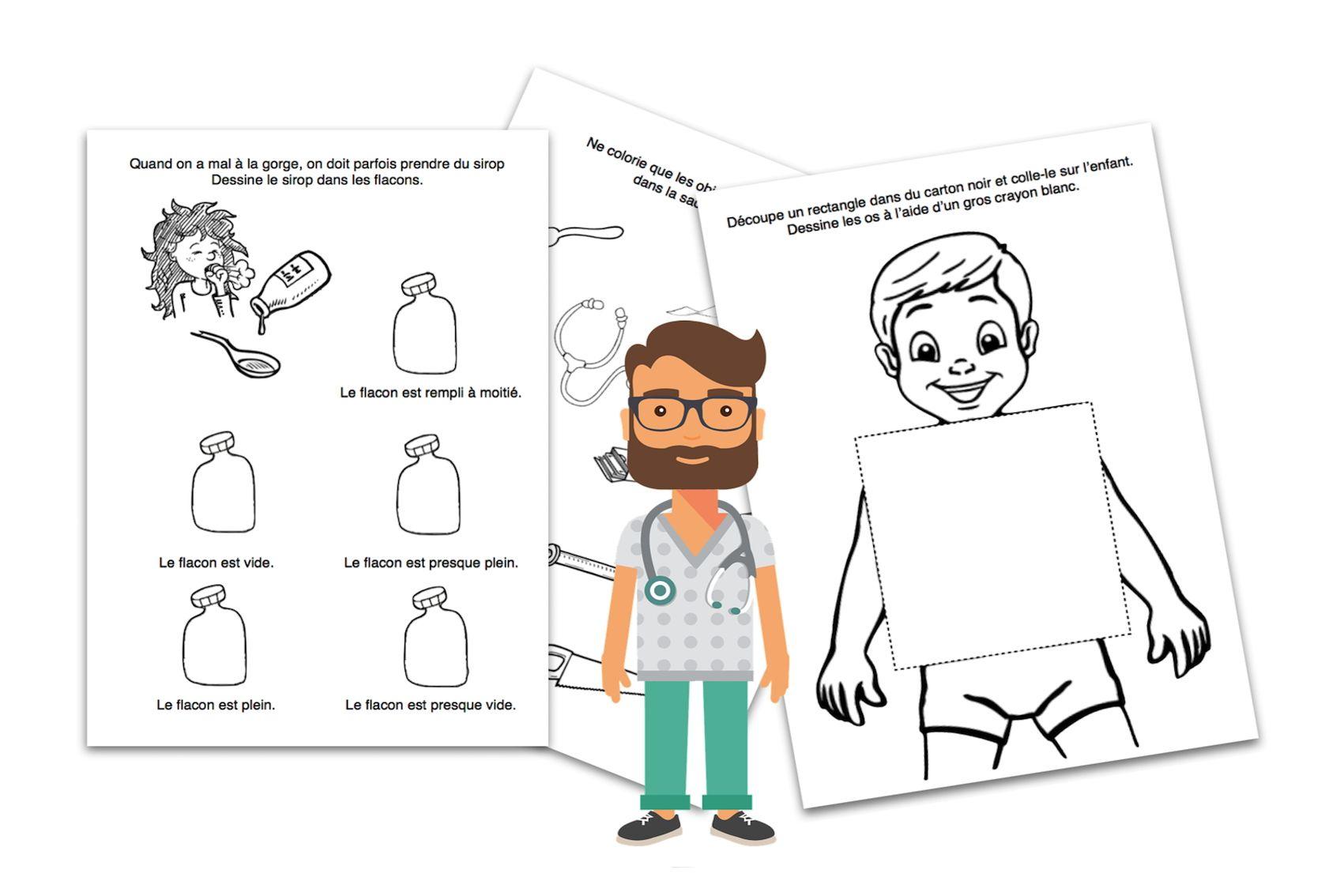 Didactécole - Exercices Pour La Classe Maternelle concernant Exercice Toute Petite Section