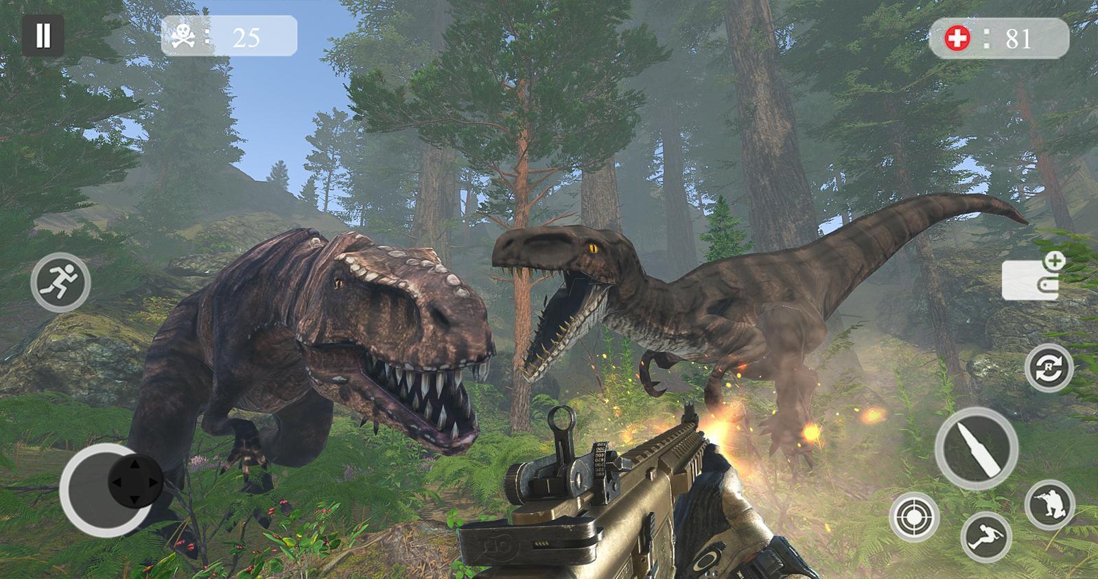 Dinosaur Hunter 2019, Jeu De Tir Gratuit Pour Android à Jeux De Tire Gratuit
