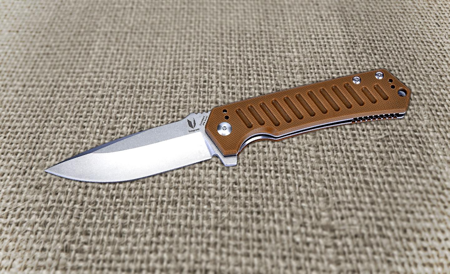 Dirk Pinkerton Evolves Scottish Fixed Blade Into Latest à Progression Tangram
