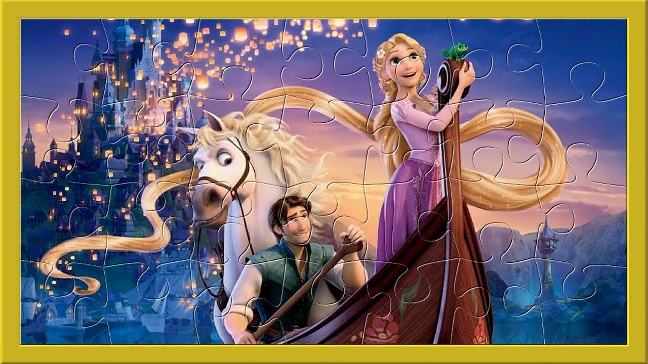 Disney Princesses Frozen,raiponce, Jasmine, Pocahontas Merida - Jeux De  Puzzle Pour Enfants serapportantà Jeux De Puzzle Enfant