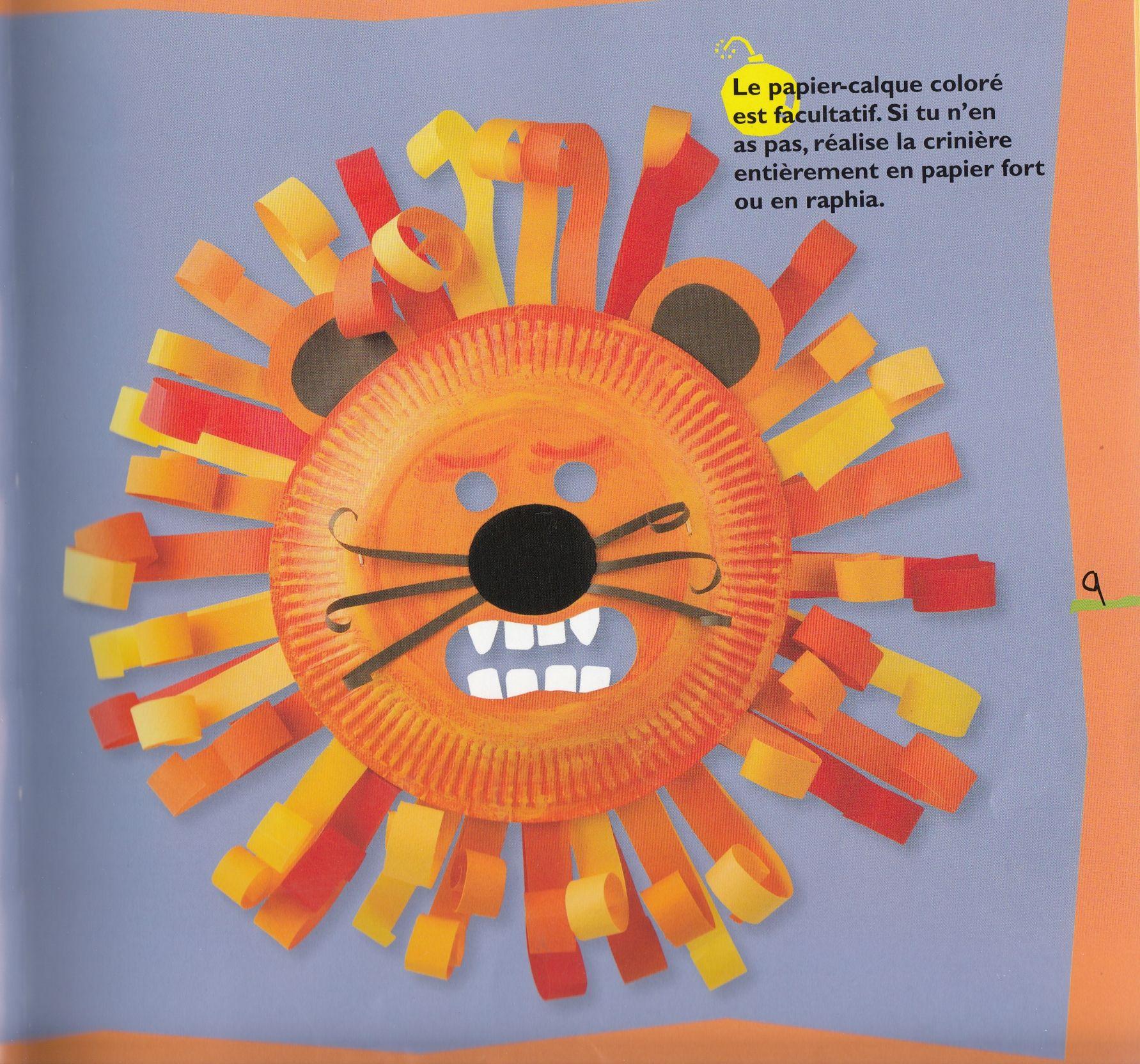 Diy Carnaval : Masque De Lion Féroce | Masque Lion, Travaux dedans Masque Maternelle