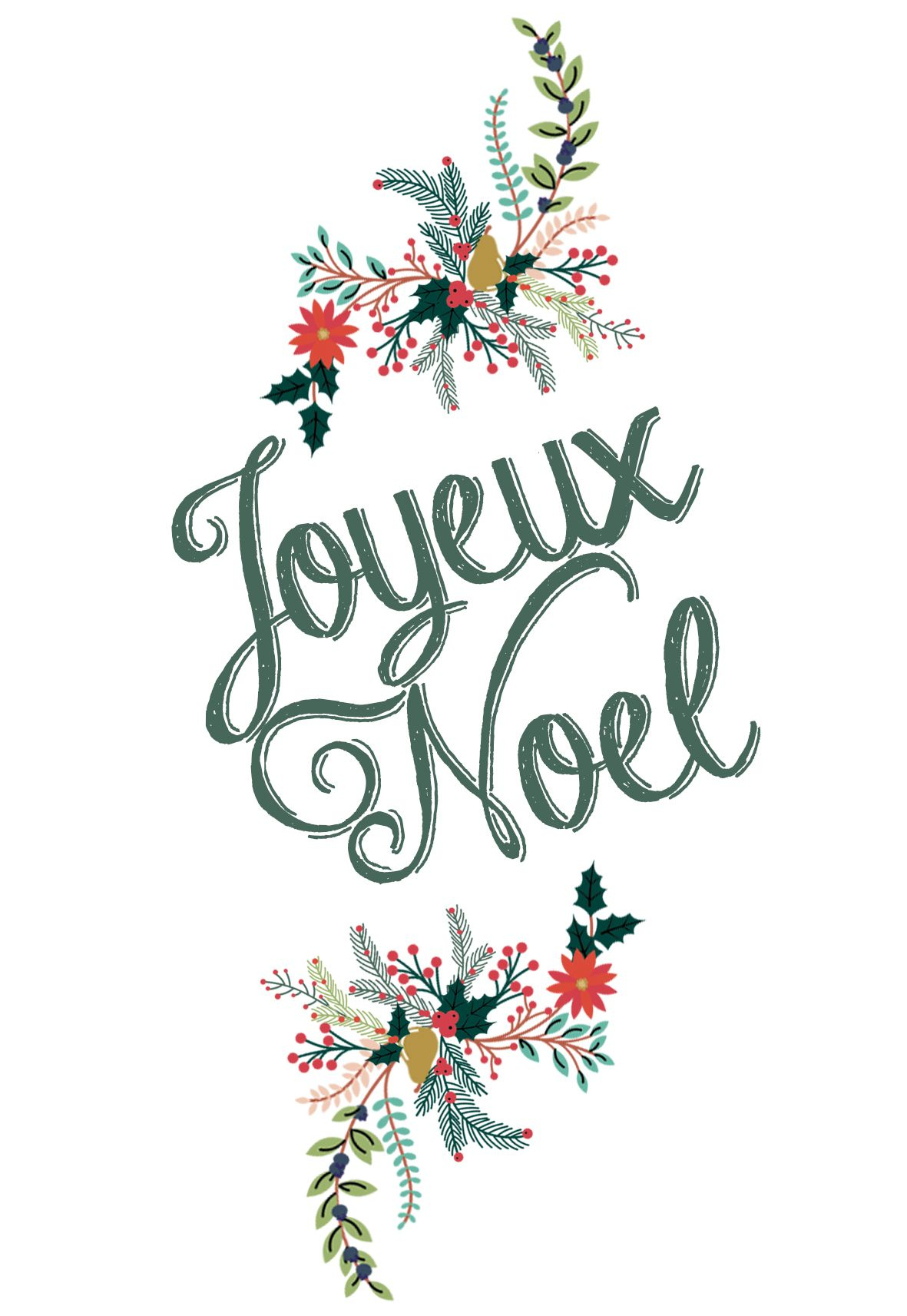 Diy: Cartes De Noël À Télécharger | Carte Noel, Cartes De concernant Ecriture De Noel A Imprimer