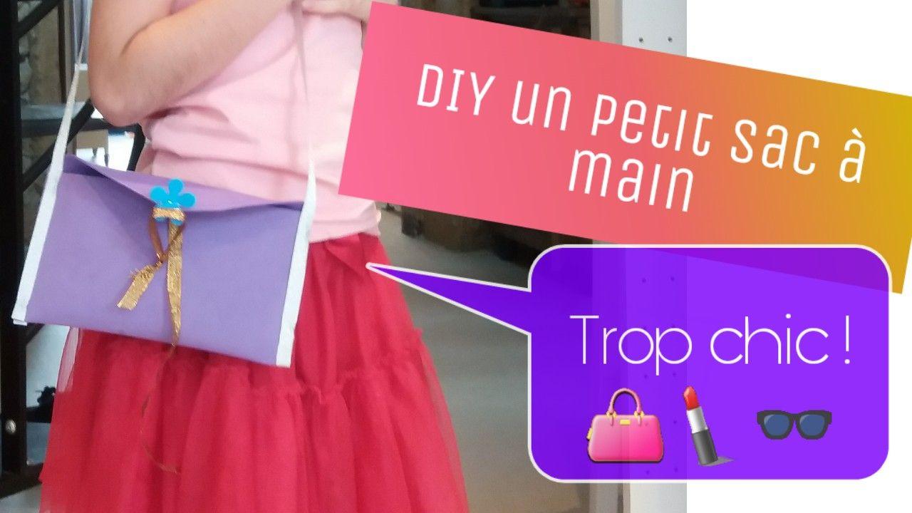 Diy Sac À Main Pour Petite Fille ( Jeux D'imitation intérieur Jouer A Des Jeux De Fille