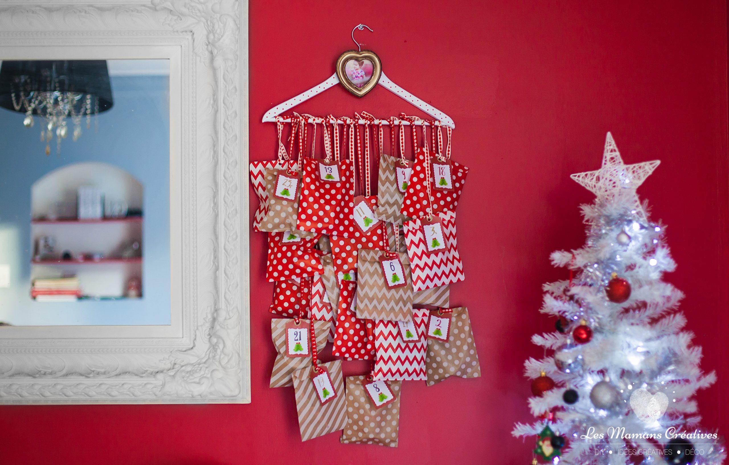 Diy-Tuto-Noel-Calendrier-De-Lavent-Fait-Maison-Soi-Meme-Les avec Activités Manuelles Enfants Noel