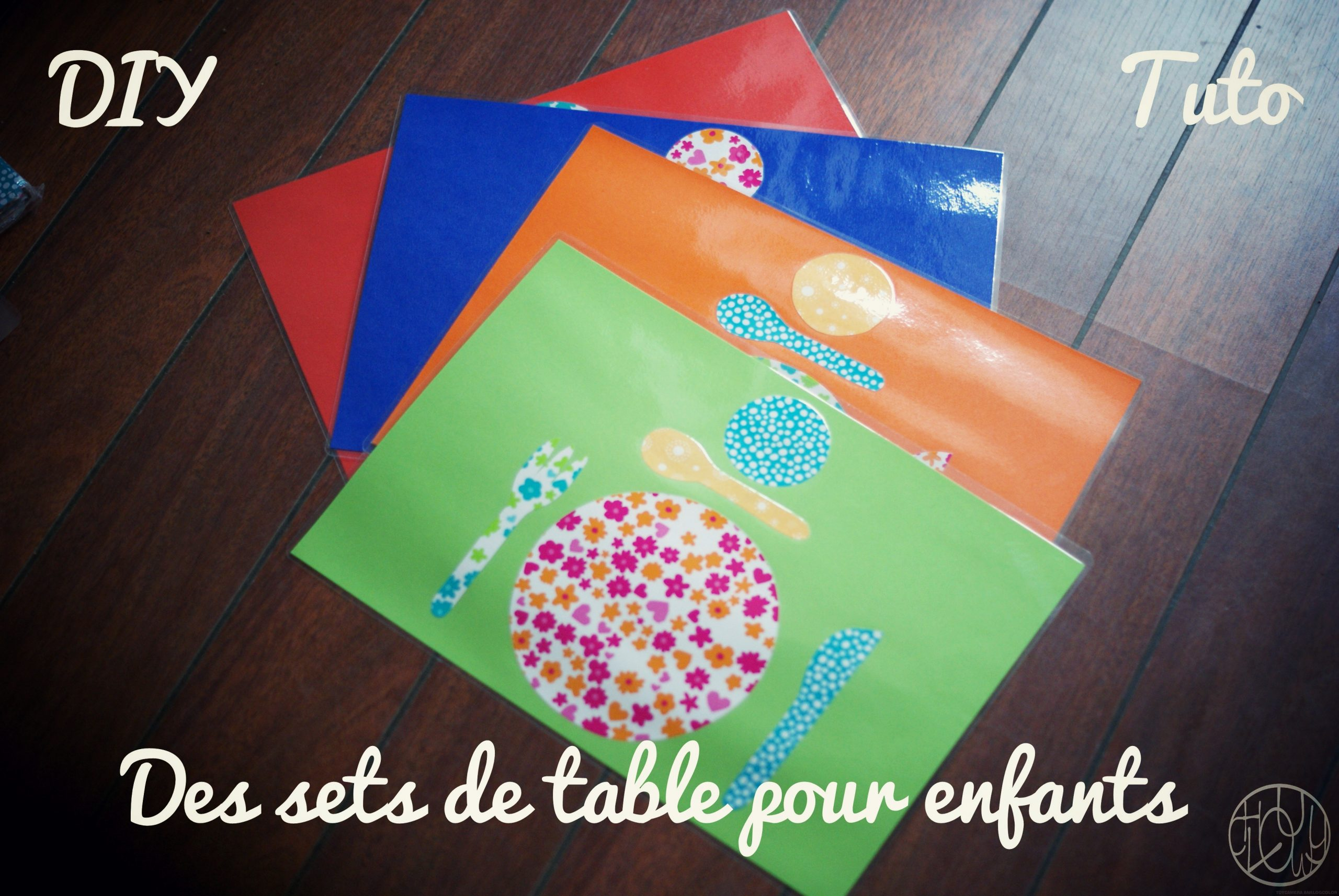 Diy Tutoriel : Des Sets De Table Montessori - Dans Ma Petite concernant Papier Plastifié Imprimable