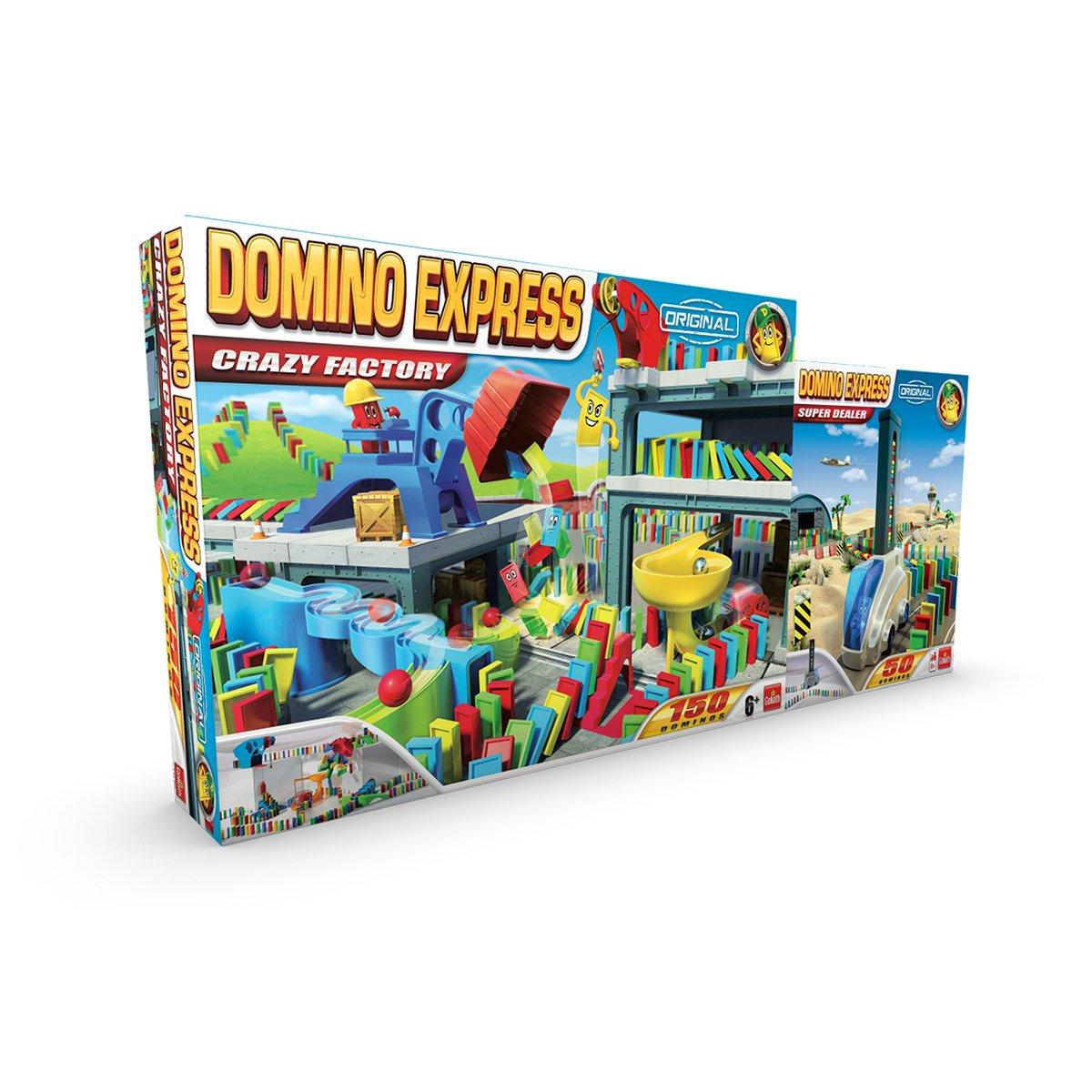 Domino Express Crazy Factory - Jeux D'ambiance - La Grande Récré tout Jeux Domino Gratuit En Ligne