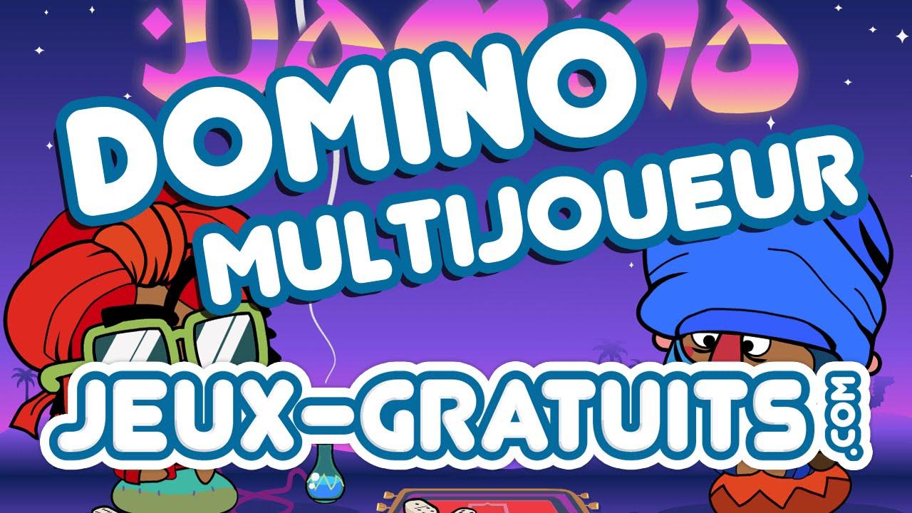 Domino Multijoueur : Jeu Gratuit En Ligne Sur Jeux-Gratuits encequiconcerne Jeux Domino Gratuit En Ligne