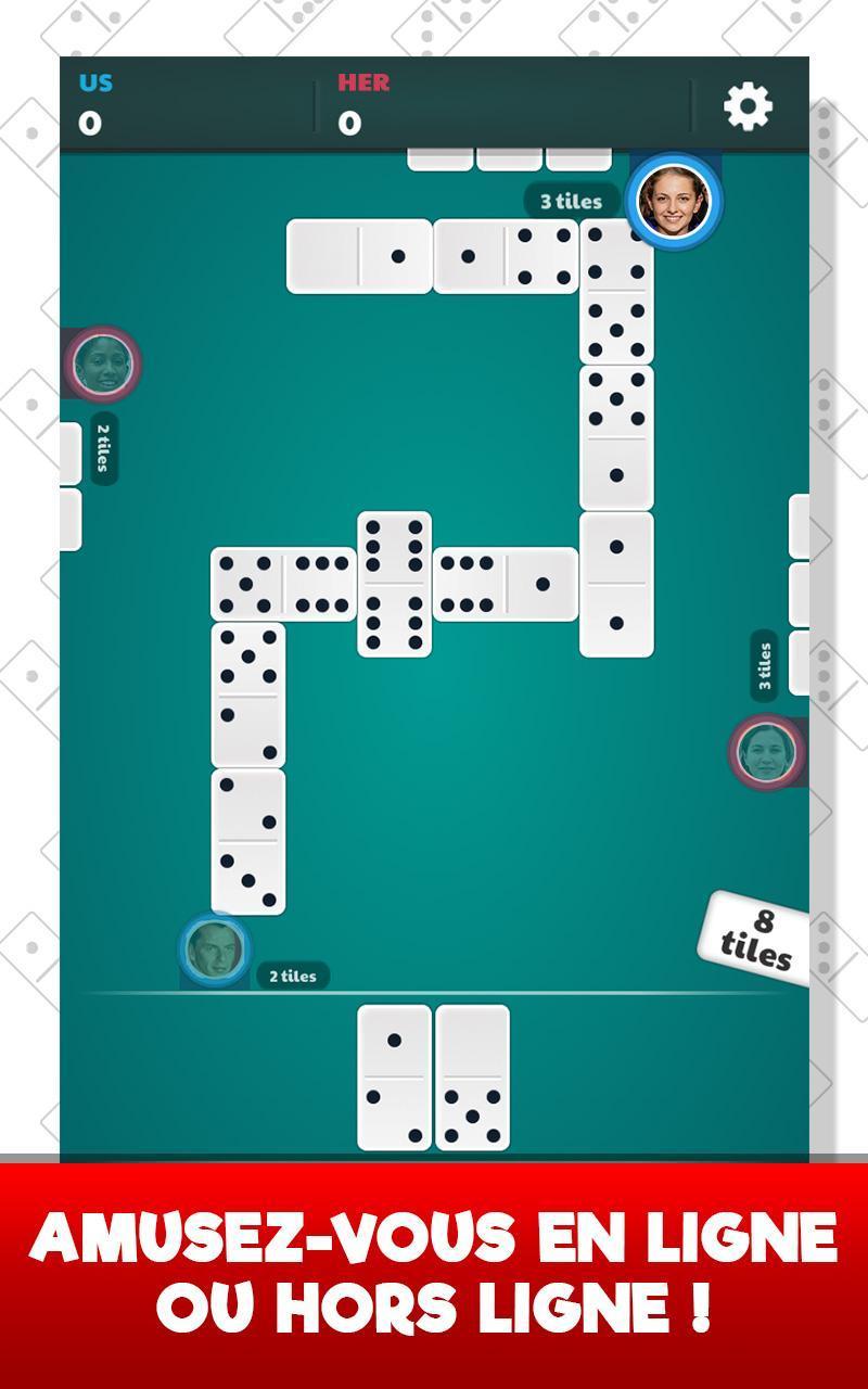 Dominos Pour Android - Téléchargez L'apk intérieur Jeux Domino Gratuit En Ligne