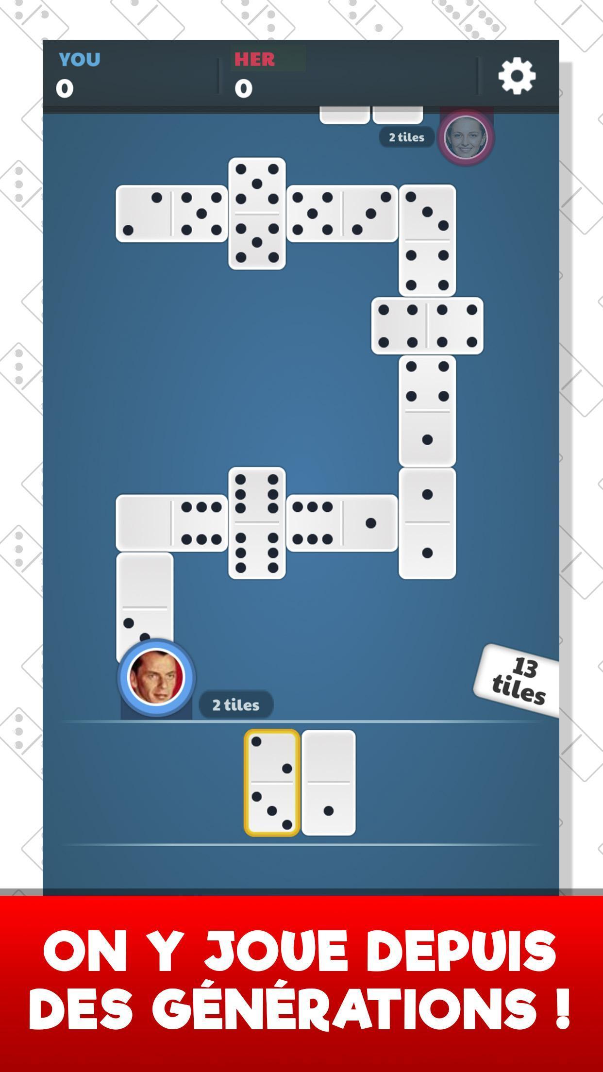 Dominos Pour Android - Téléchargez L'apk pour Jeux Domino Gratuit En Ligne
