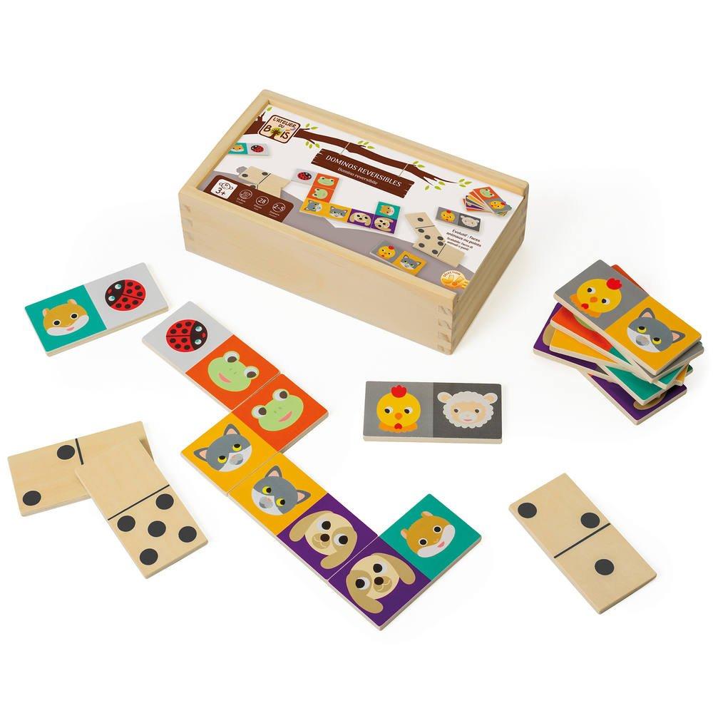 Dominos Reversibles Les Animaux dedans Jeux Domino Gratuit En Ligne