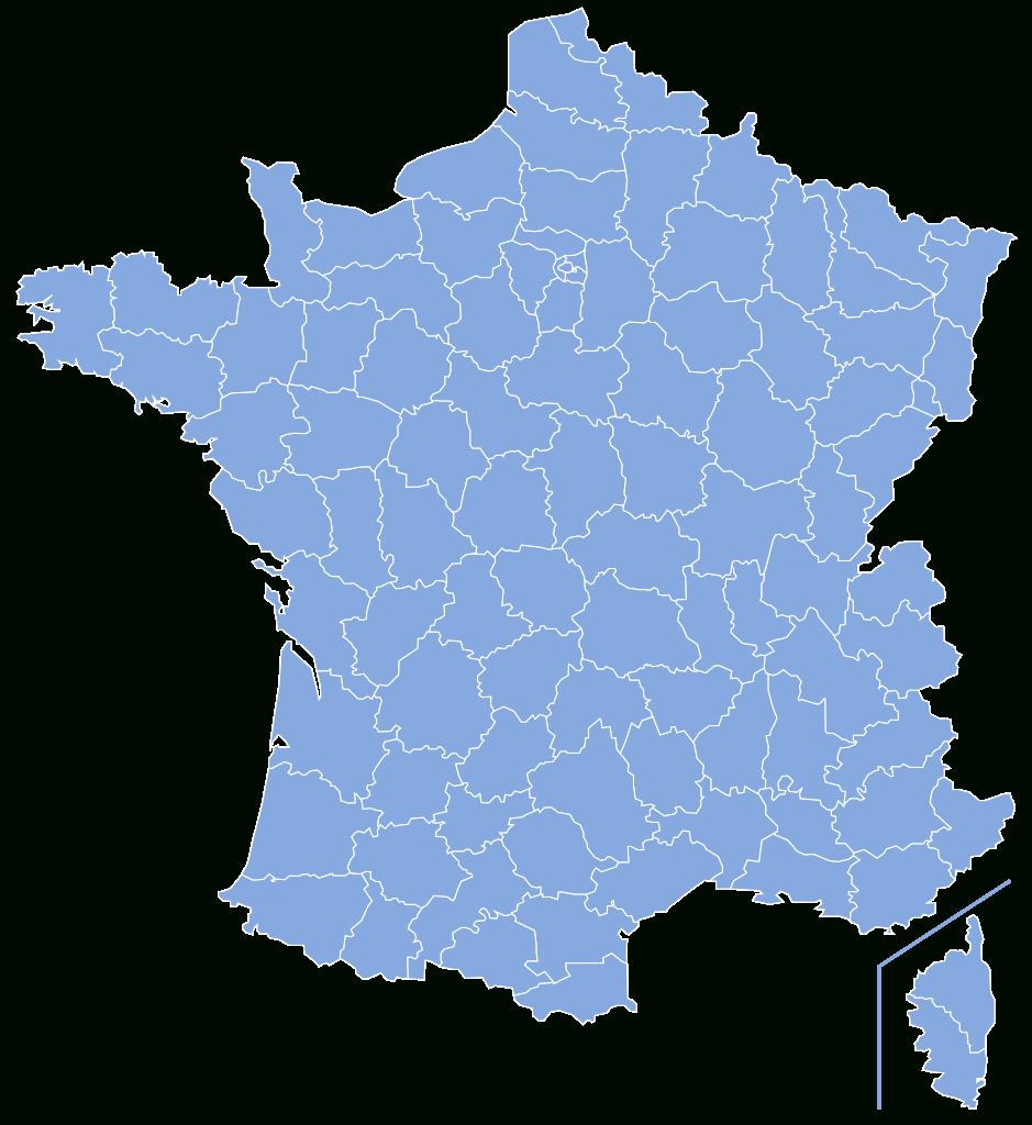Dosya:départements De France-Simple.svg - Vikipedi tout Département De La France Carte