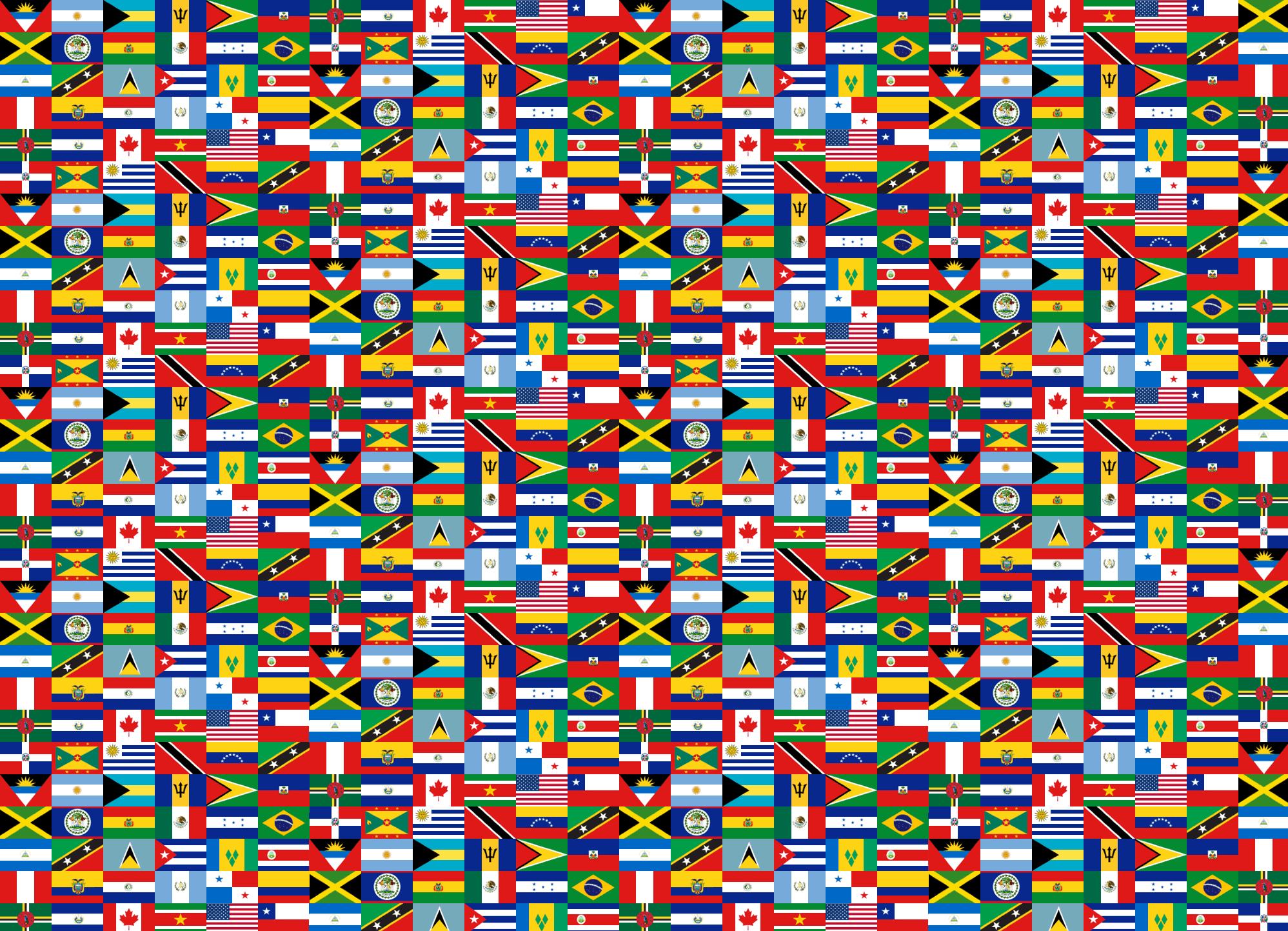 Drapeaux D'amérique Quiz - Jeux De Géographie encequiconcerne Jeux De Geographie