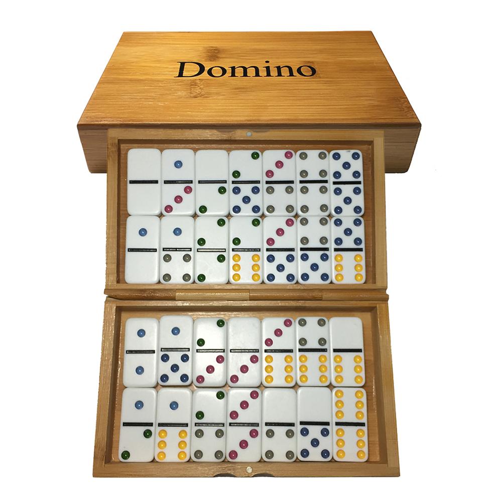 €22.17 15% De Réduction|Bambou Case Jeu De Domino Pai Gow 28Pcs Dominos Jeu  De Société Puzzles Dominoes Kutu Oyunu|Pai Gow|Board Game|Dominoes Board tout Jeu Du Domino