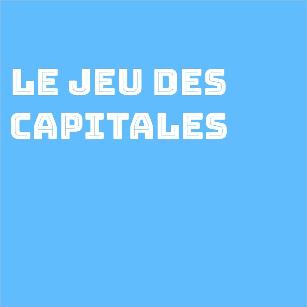 mathias Erligmann Uygulamaları App Store'Da à Jeu Des Capitales