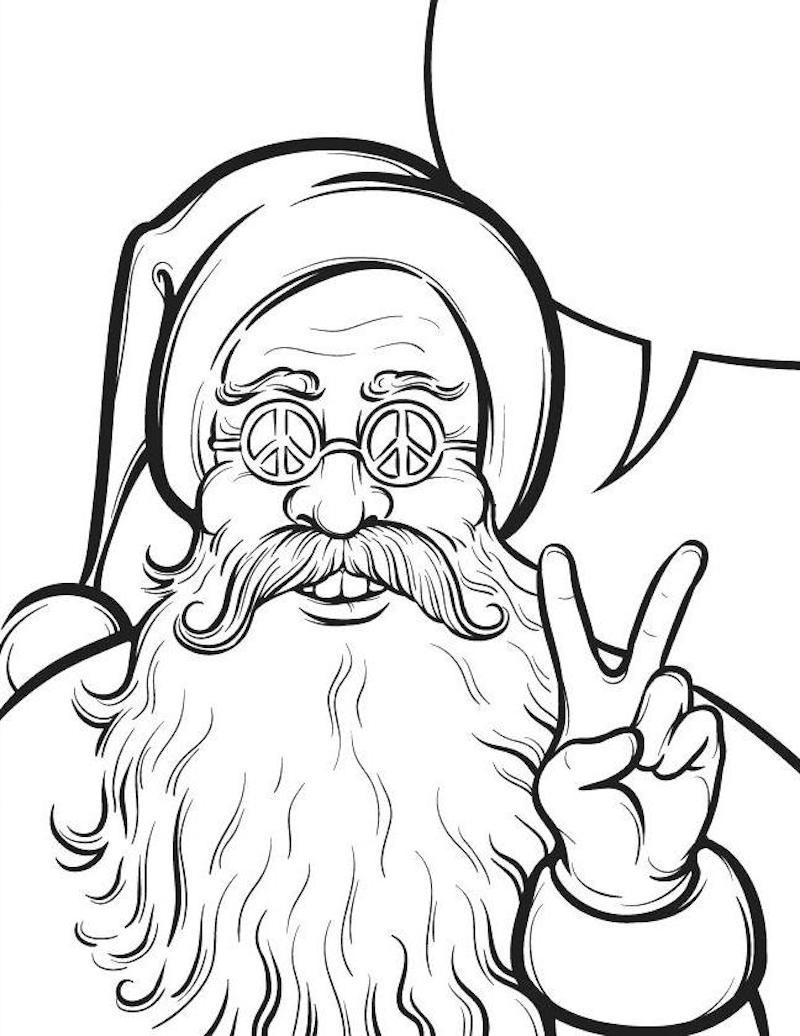 ▷ 1001 + Idées | Coloriage De Noël – Pour Des Fêtes Pleines destiné Dessin De Noel En Couleur A Imprimer