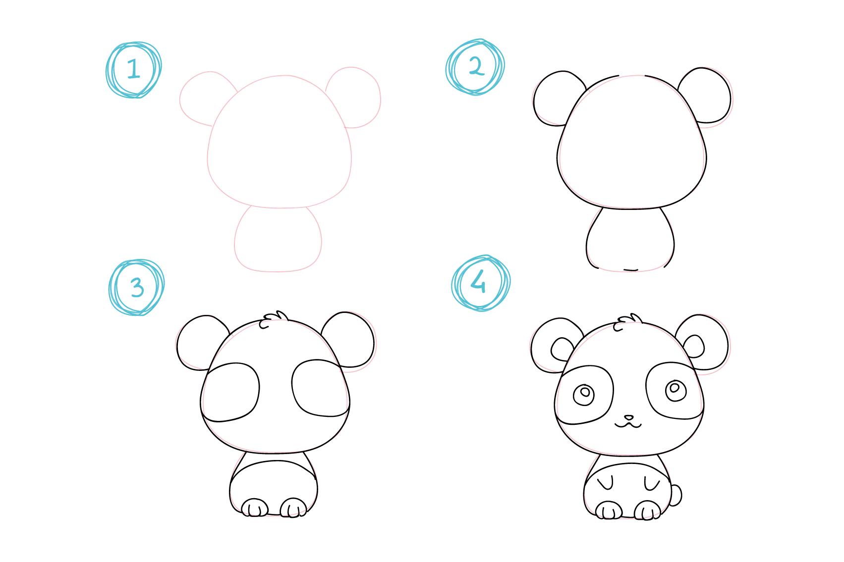 ▷ 1001 + Idées Faciles Pour Faire Un Dessin Kawaii Mignon concernant Image Facile A Reproduire