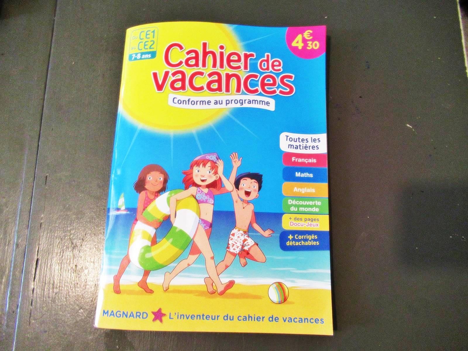 ❤ Pourquoi On Utilise Un Cahier De Vacances ? ❤ serapportantà Cahier De Vacances 1Ere S