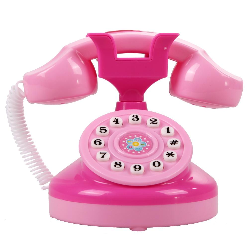 €6.06 5% De Réduction|Rose Simulé Téléphone Jouets Enfants Éclairage  Téléphone Pour Les Filles Semblant Jouer Jouet Enfants Mini Clignotant  Jouet encequiconcerne Jeux De Fille De Telephone