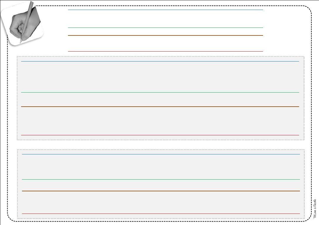 Écrire En Cursive En Gs | Écrire En Cursive, Cursive, Ecrire avec Ligne Écriture Gs