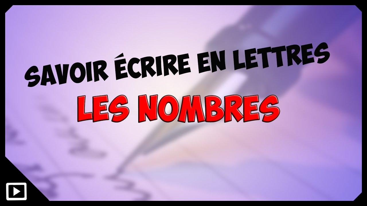 Ecrire Les Nombres En Lettres intérieur Apprendre Les Chiffres En Lettres Cp