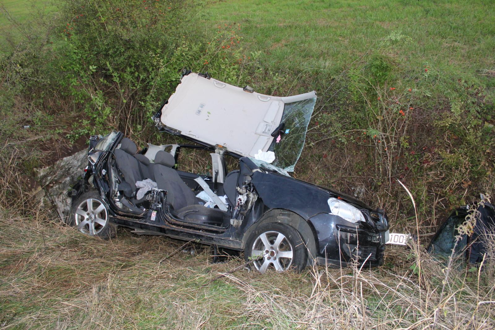 Edition Vesoul Haute-Saône | Sortie De Route Entre Beaujeu encequiconcerne Jeux De Voiture Accident