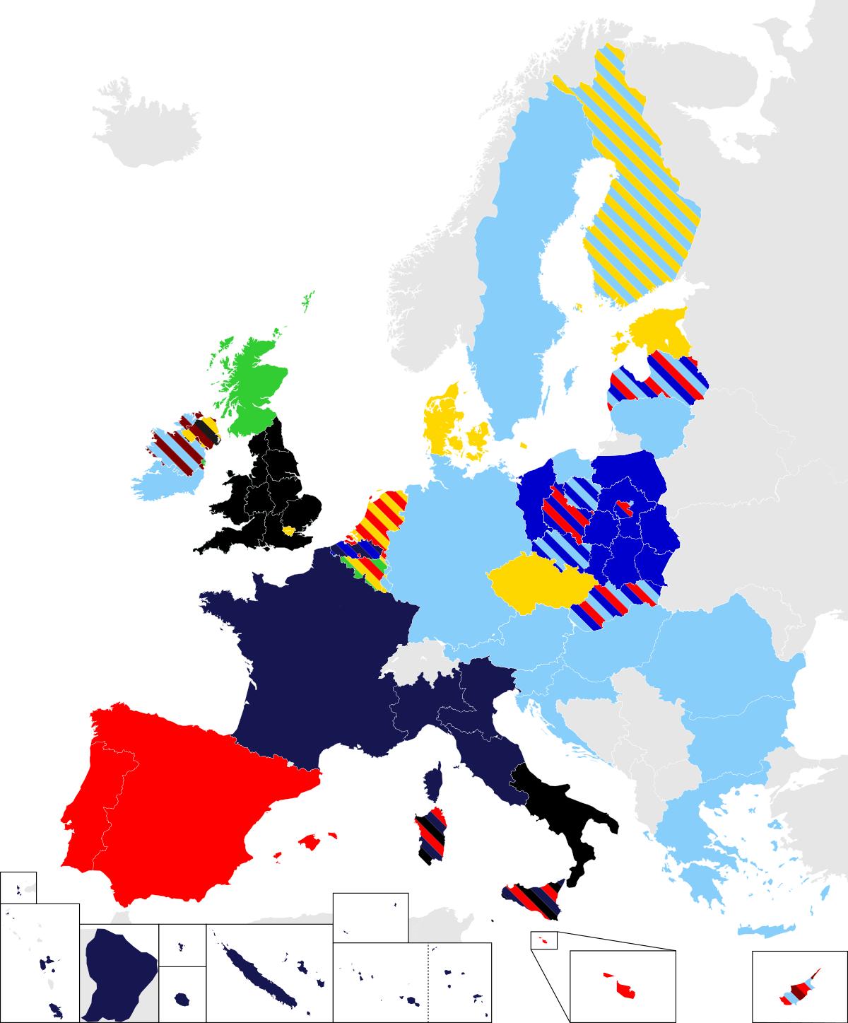 Élections Européennes De 2019 — Wikipédia serapportantà Tout Les Pays De L Union Européenne Et Leur Capital
