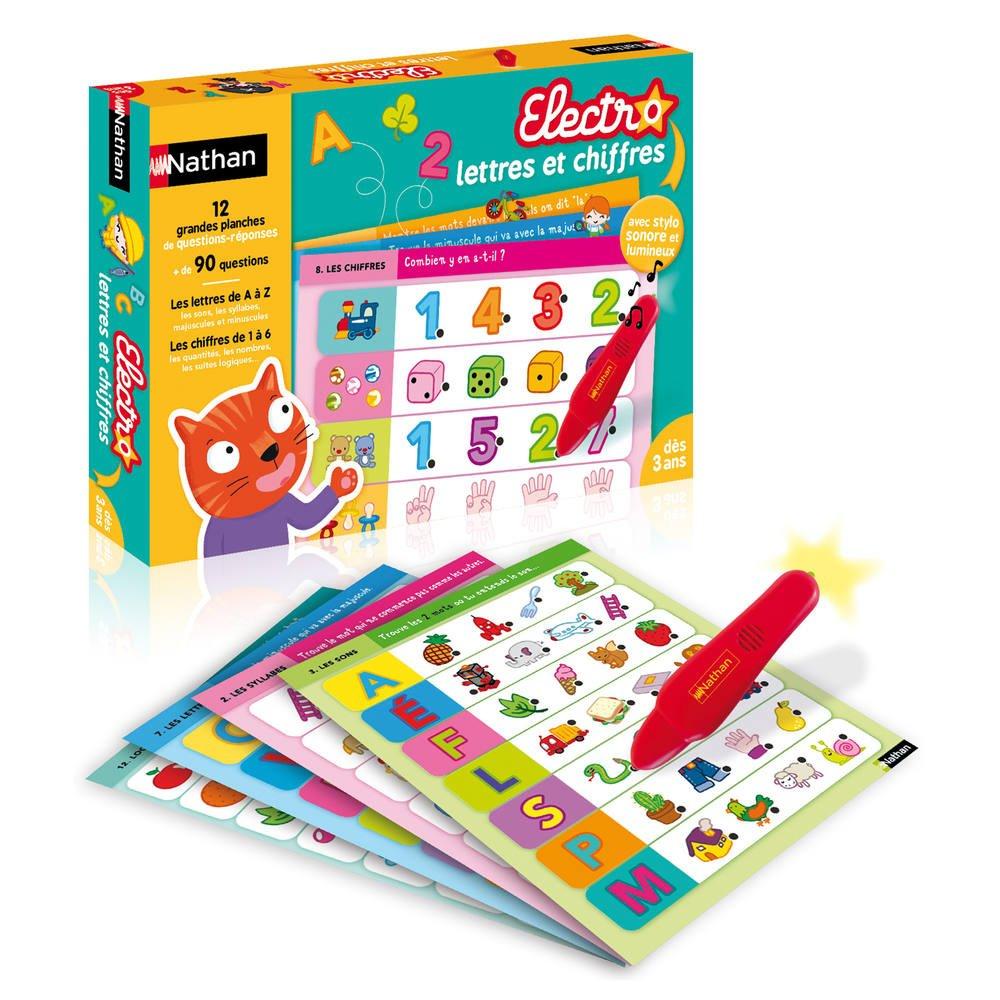 Electro Lettres Et Chiffres pour Jeux Avec Chiffres
