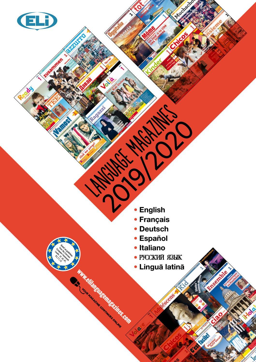 Eli Language Magazines 2019 - 2019 Catalogue By Eli pour Jeux De Course Online