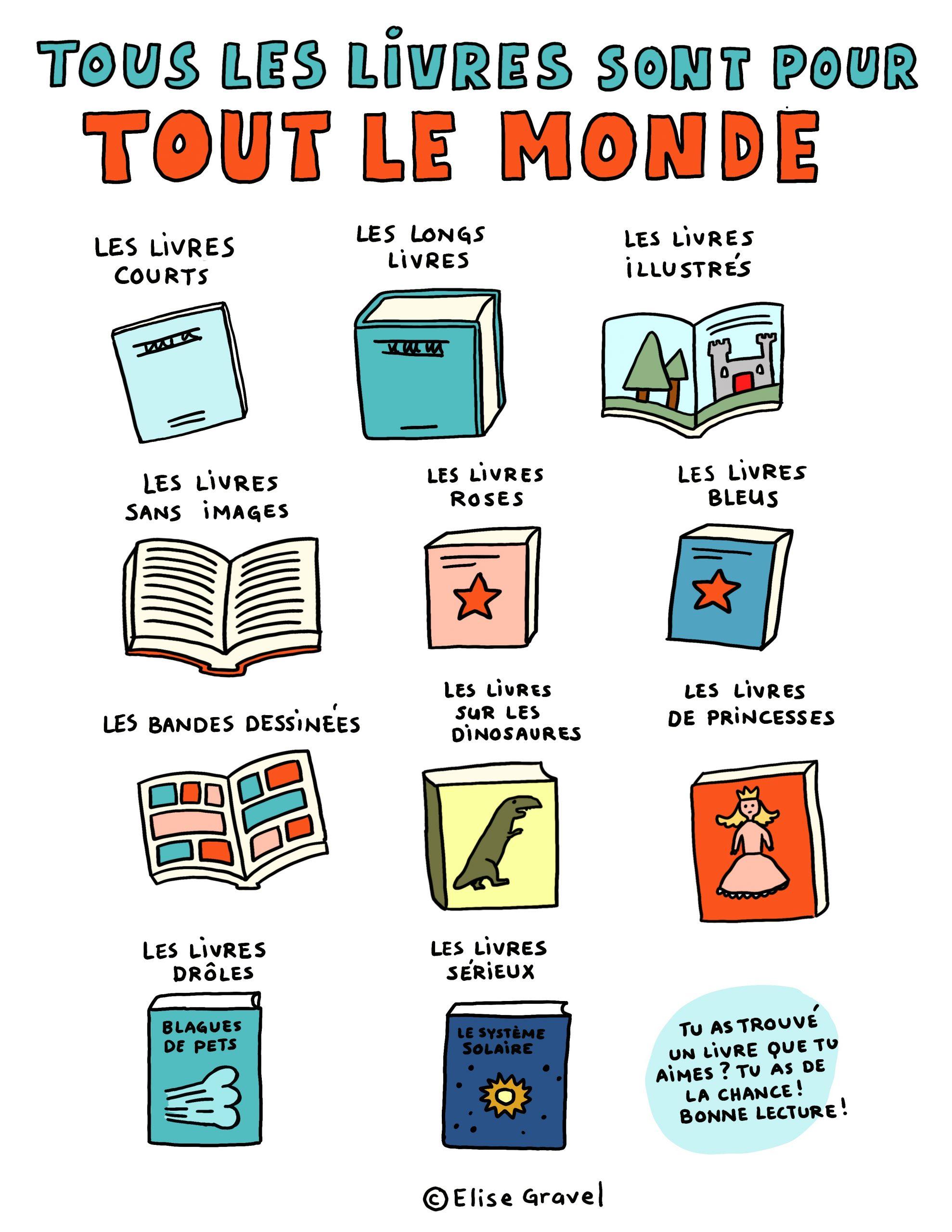 Elise Gravel | Auteure – Illustratrice concernant Imprimer Un Livre Gratuitement