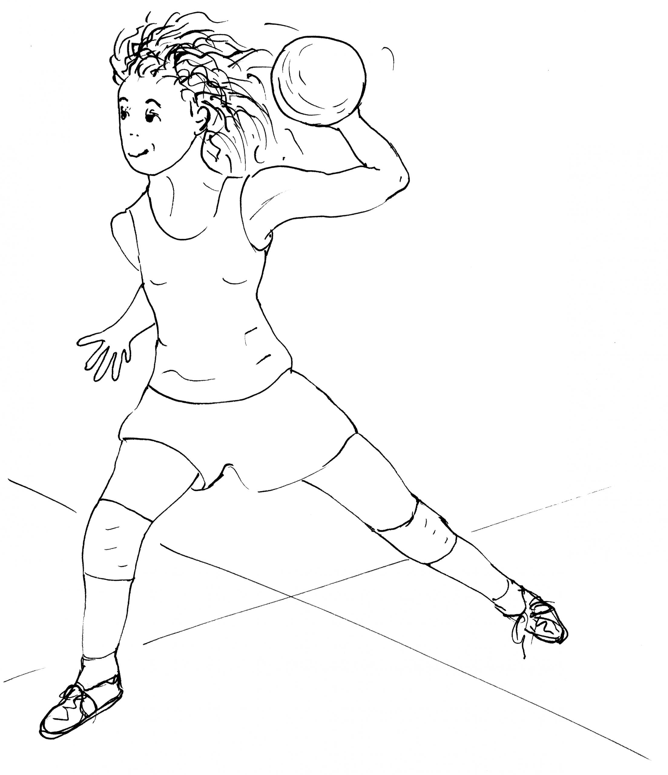 Encouragement Des Filles Dans Le Sport: Balle À Deux Camps dedans Jeux De Deux Fille