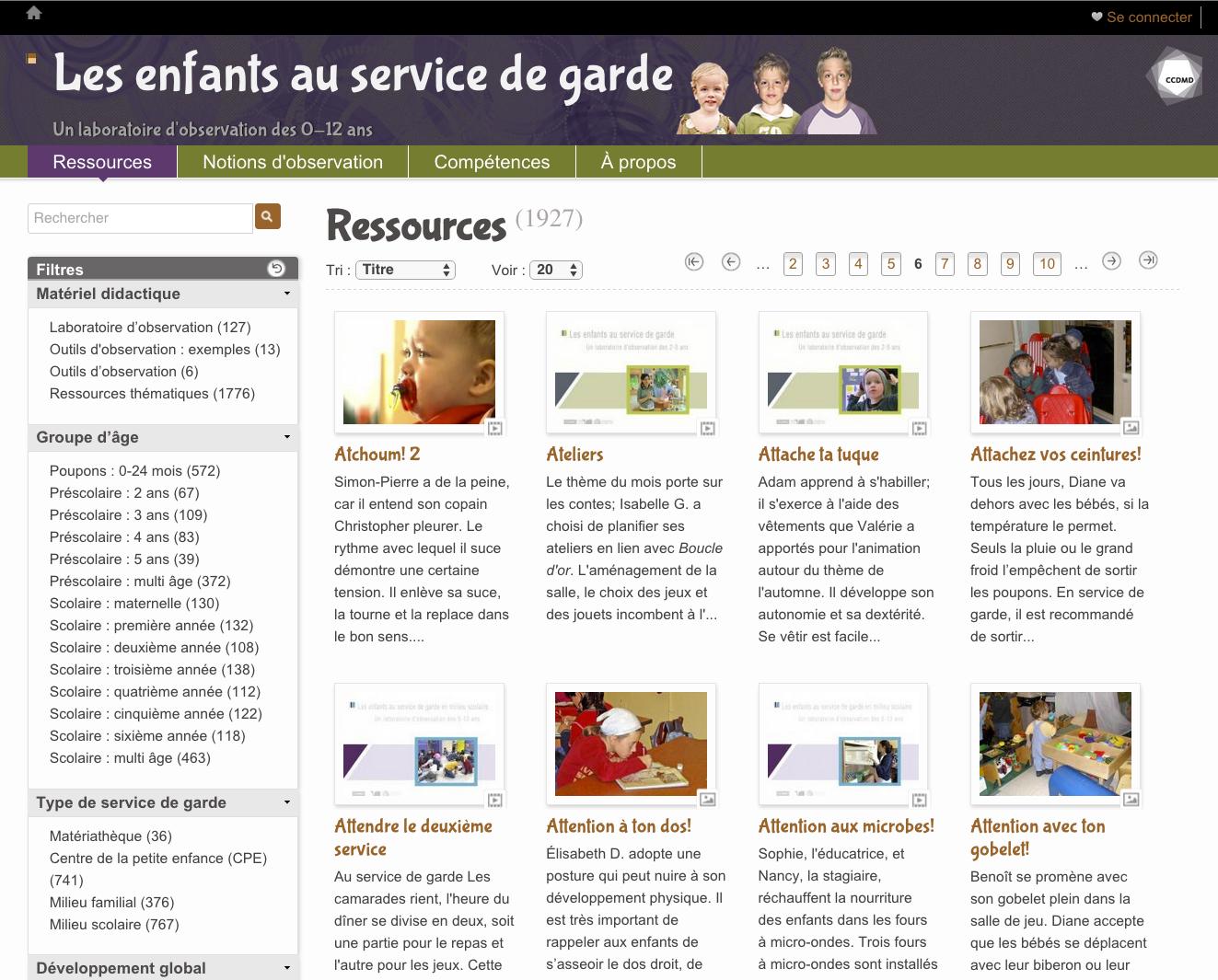 Enfants Au Service De Garde (Les) | Ccdmd concernant Activités Éducatives Pour Les 0 2 Ans
