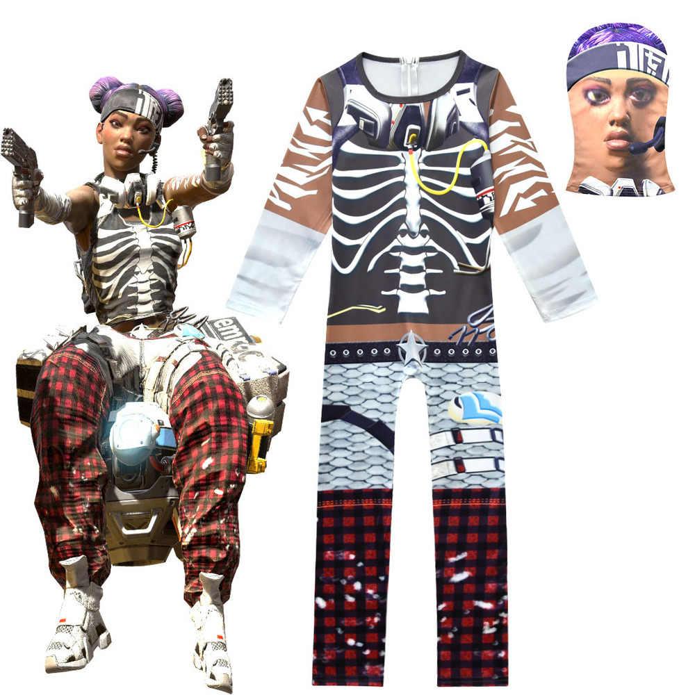 Enfants Ninjago Apex Légendes Jeu Vêtements Garçons/filles Personnage Clown  Cosplay Vêtements Halloween Costumes Ninja Fête Drôle Vêtements serapportantà Jeux De Vetement Pour Garçon