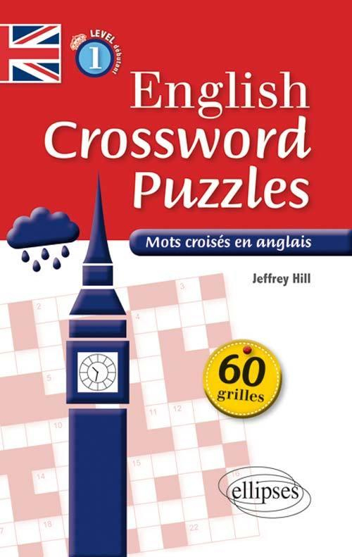 English Crossword Puzzles Level 1 - Mots Croisés En Anglais - Niveau -  Librairie Eyrolles destiné Mot Croisé En Anglais