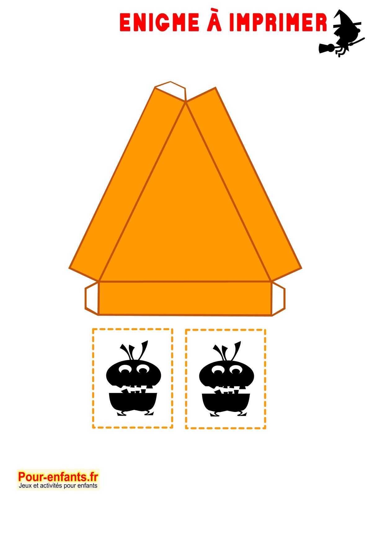 Enigmes Idées Activités Jeux À Imprimer Halloween Bricolage tout Bricolage À Imprimer Gratuit