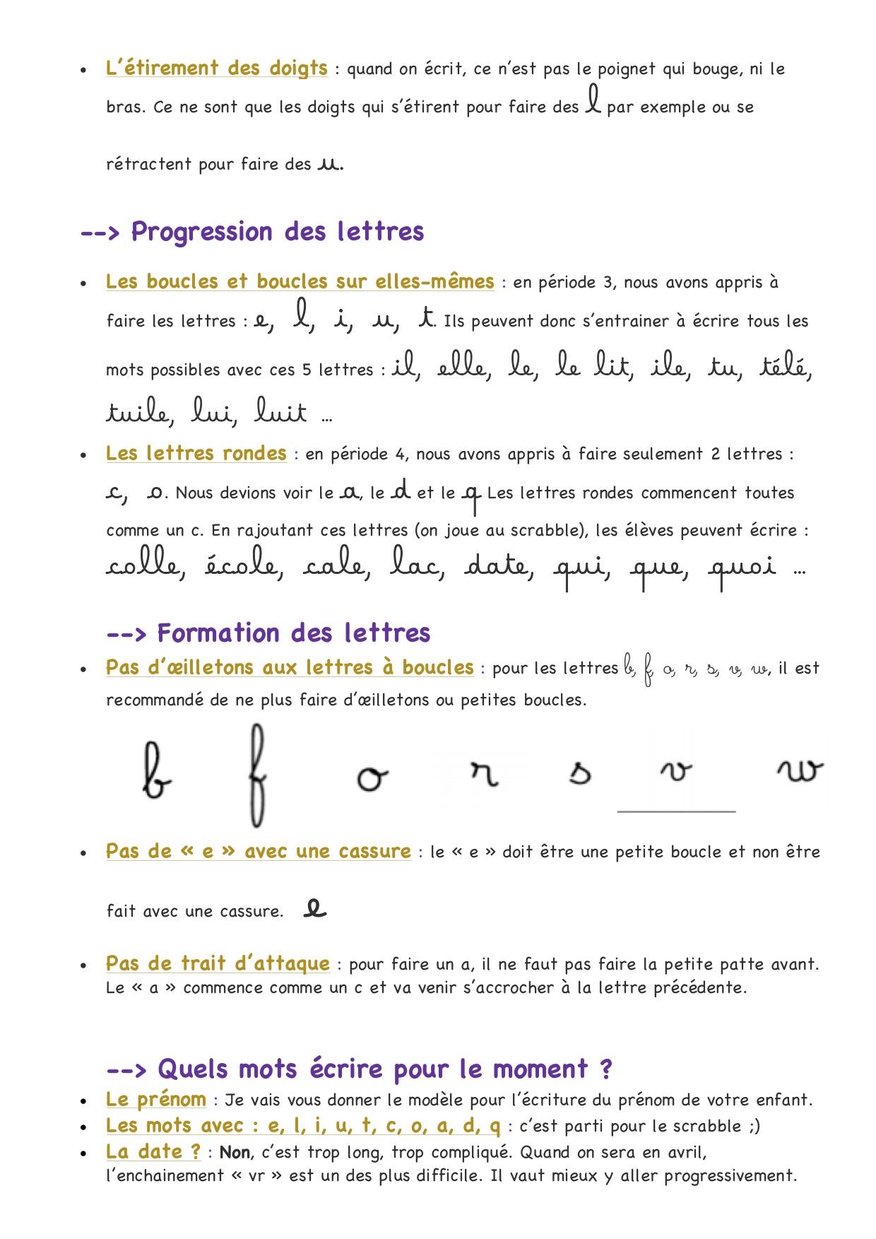 Enseignement Au Geste D'écriture - La Classe De Luccia ! dedans Écriture Chiffres Gs