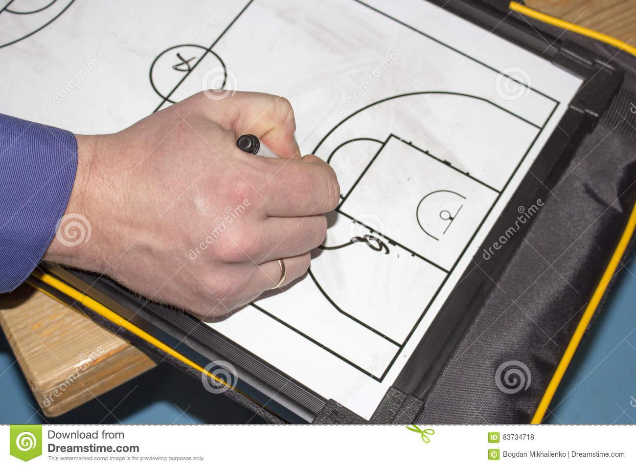 Entraîneur De Football De Tablette Photo Stock - Image Du à Jeux Foot Tablette