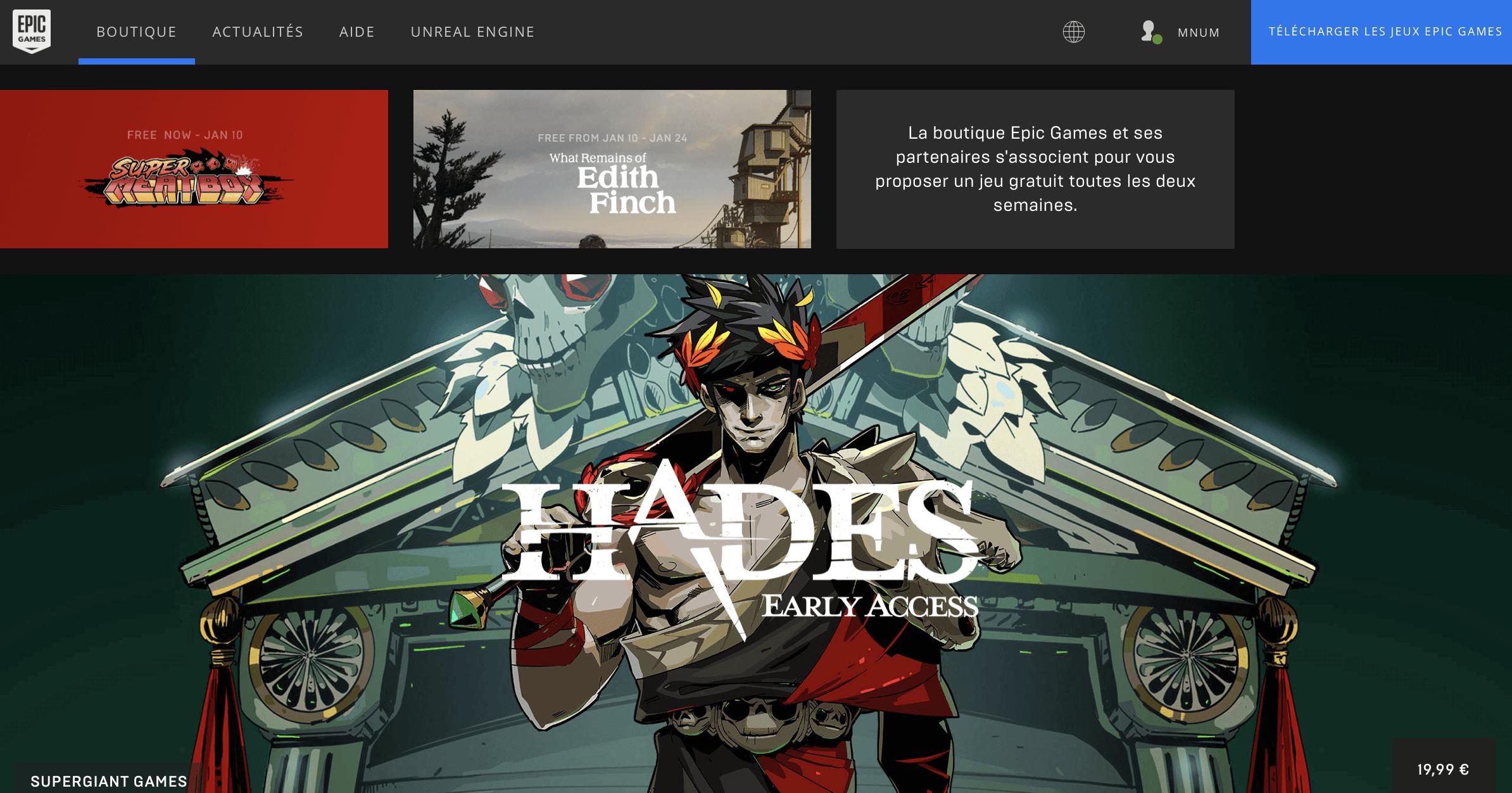 Epic Games Store : Quels Sont Les Jeux Gratuits Et Comment intérieur Jeux Gratuit Sur Ordinateur