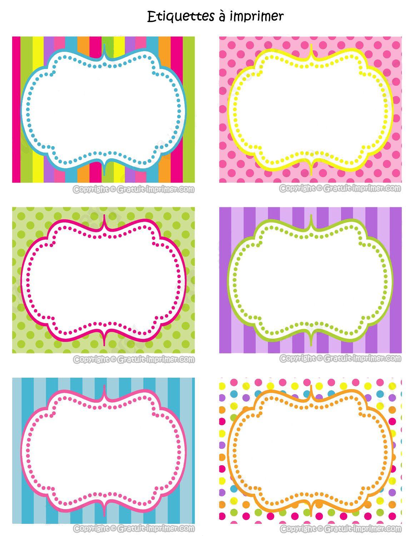 Épinglé Par Angela Cristina Sur Cuaderno Cami | Etiquette pour Etiquette Scolaire Personnalisé Gratuit