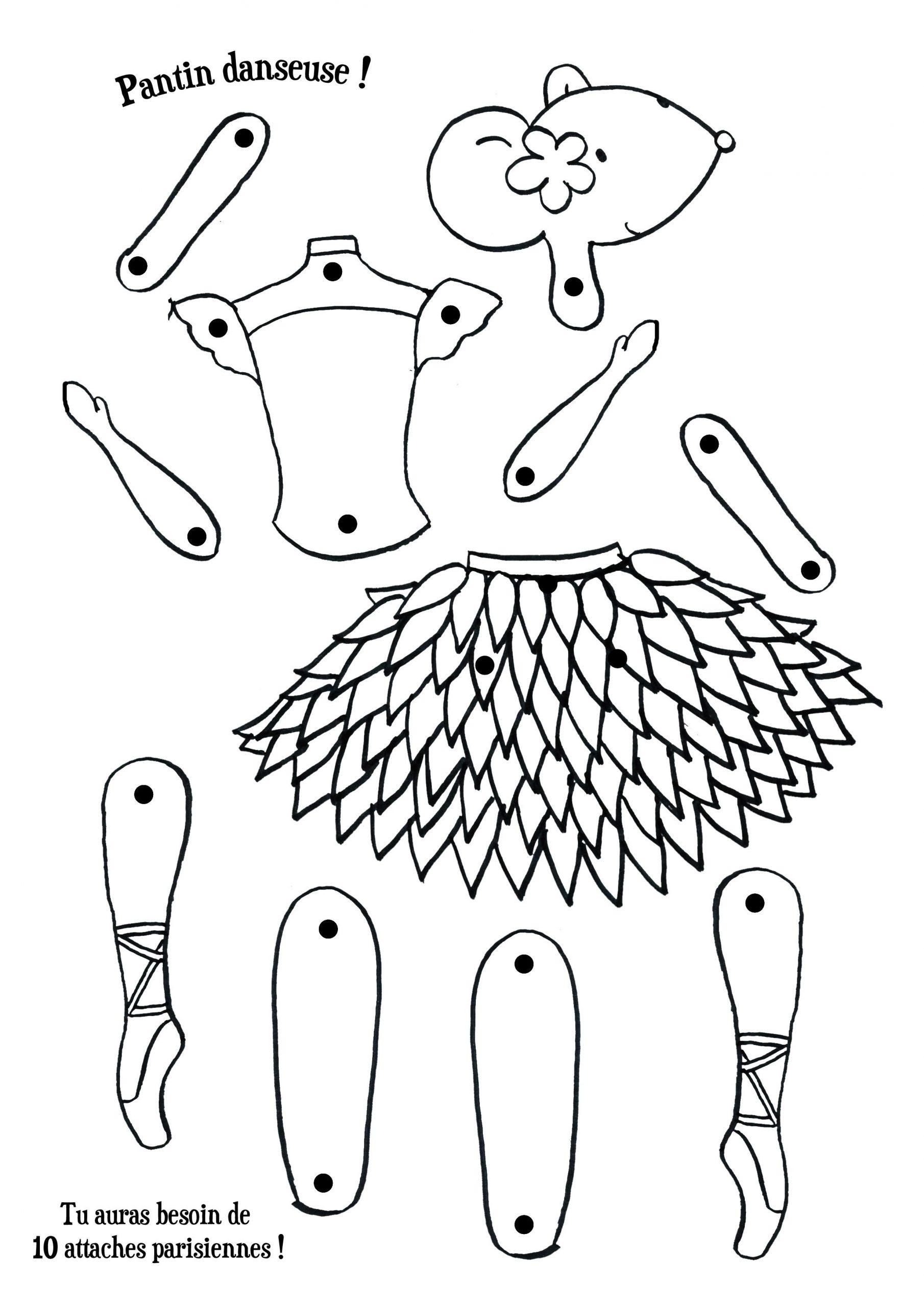 Épinglé Par Blandine Roux Sur Bricolage En 2020 | Bricolage encequiconcerne Dessin Pantin